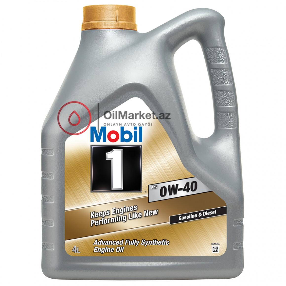 Mobil 1 FS 0W-40 - 4 Lt