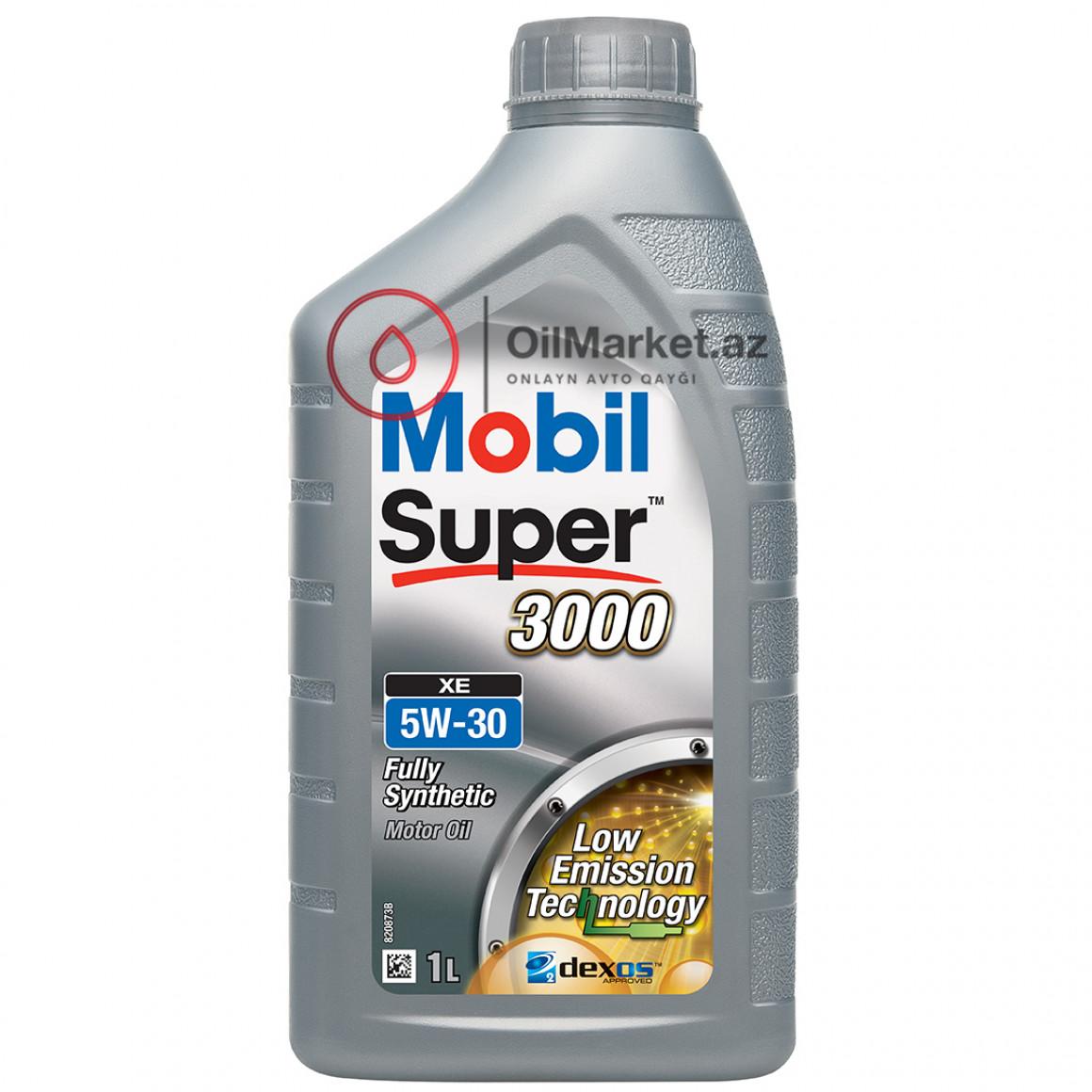 Mobil Super 3000 XE 5W-30 - 4 lt