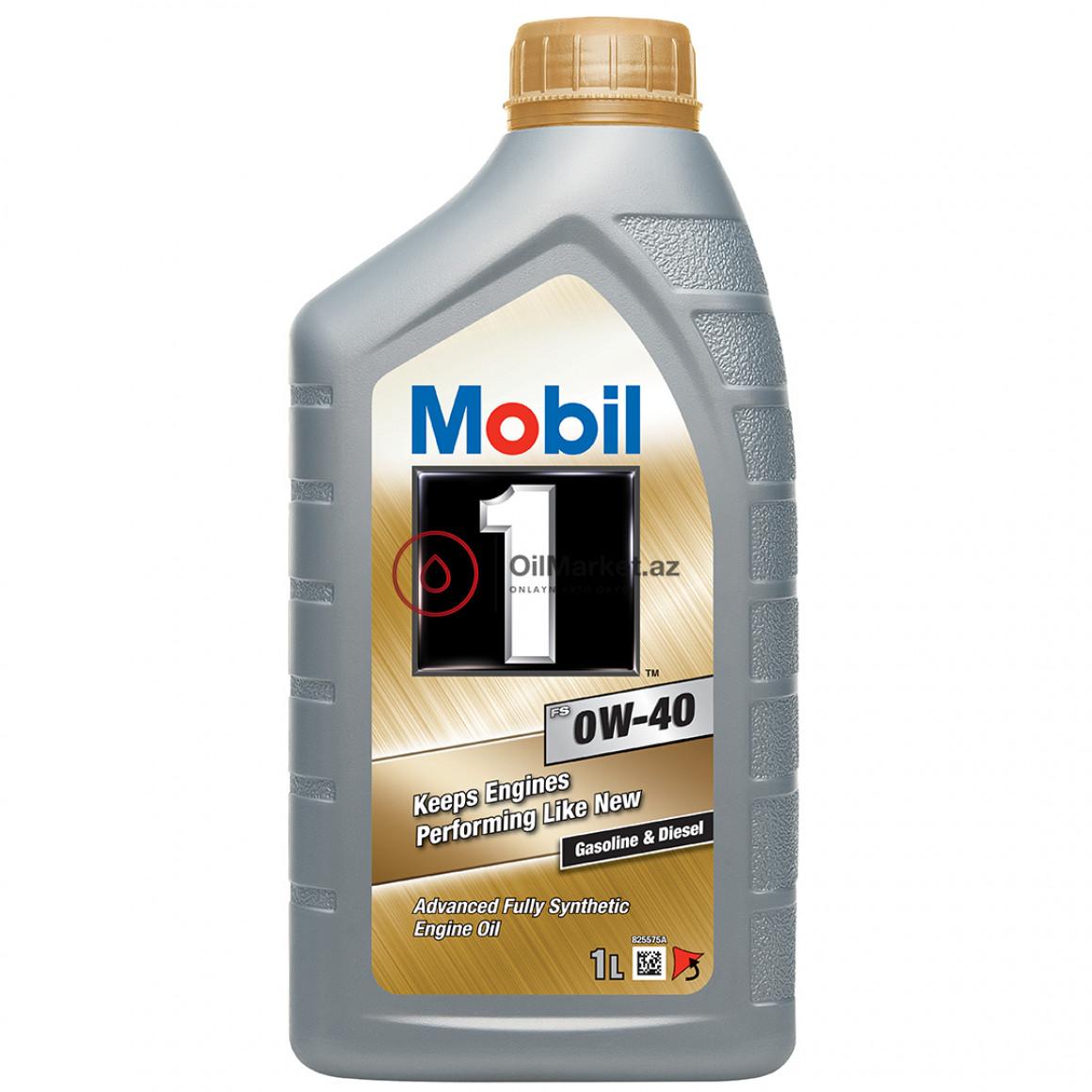 Mobil 1 FS 0W-40 - 1 Lt