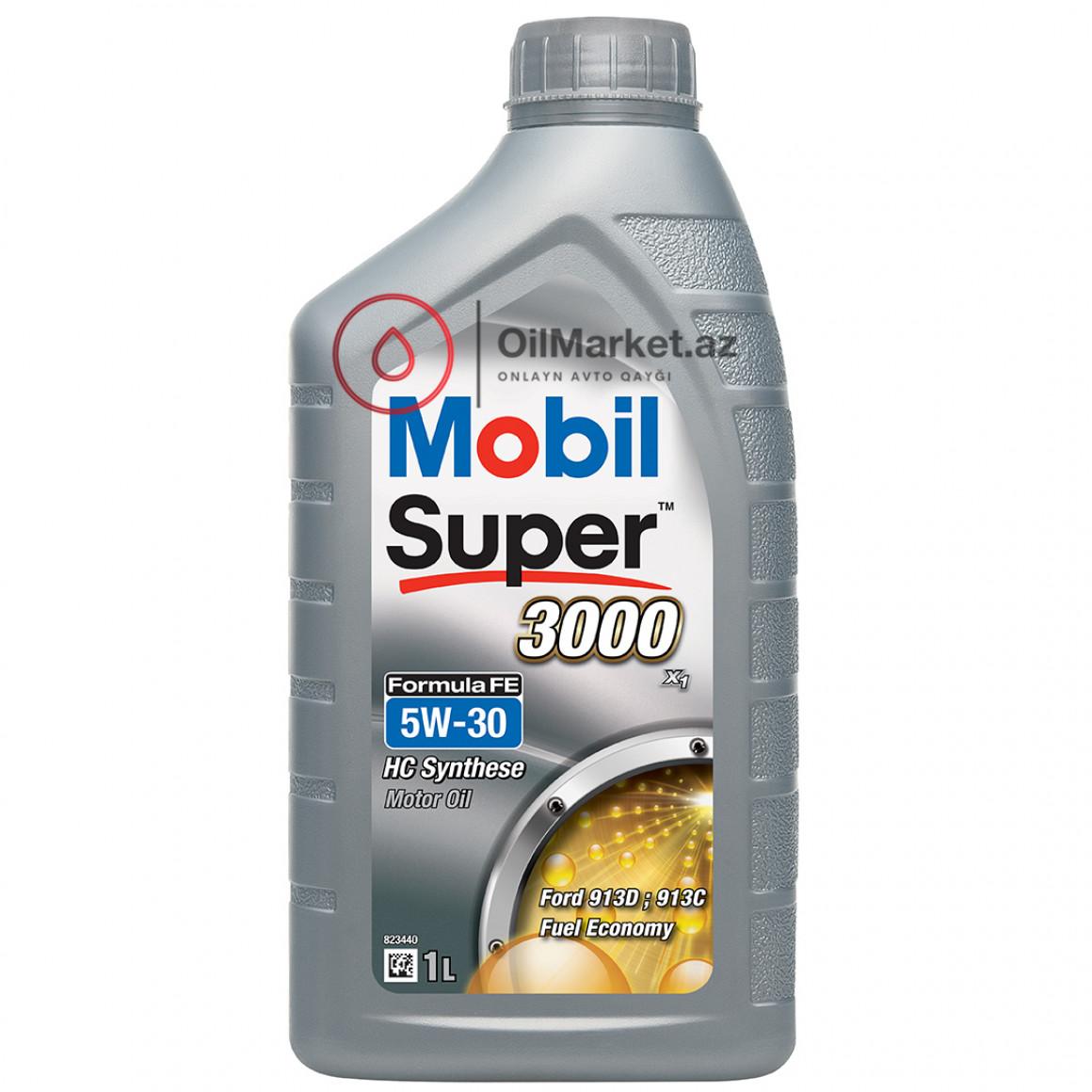 Mobil Super 3000 X1 Formula FE 5W-30 - 1 lt