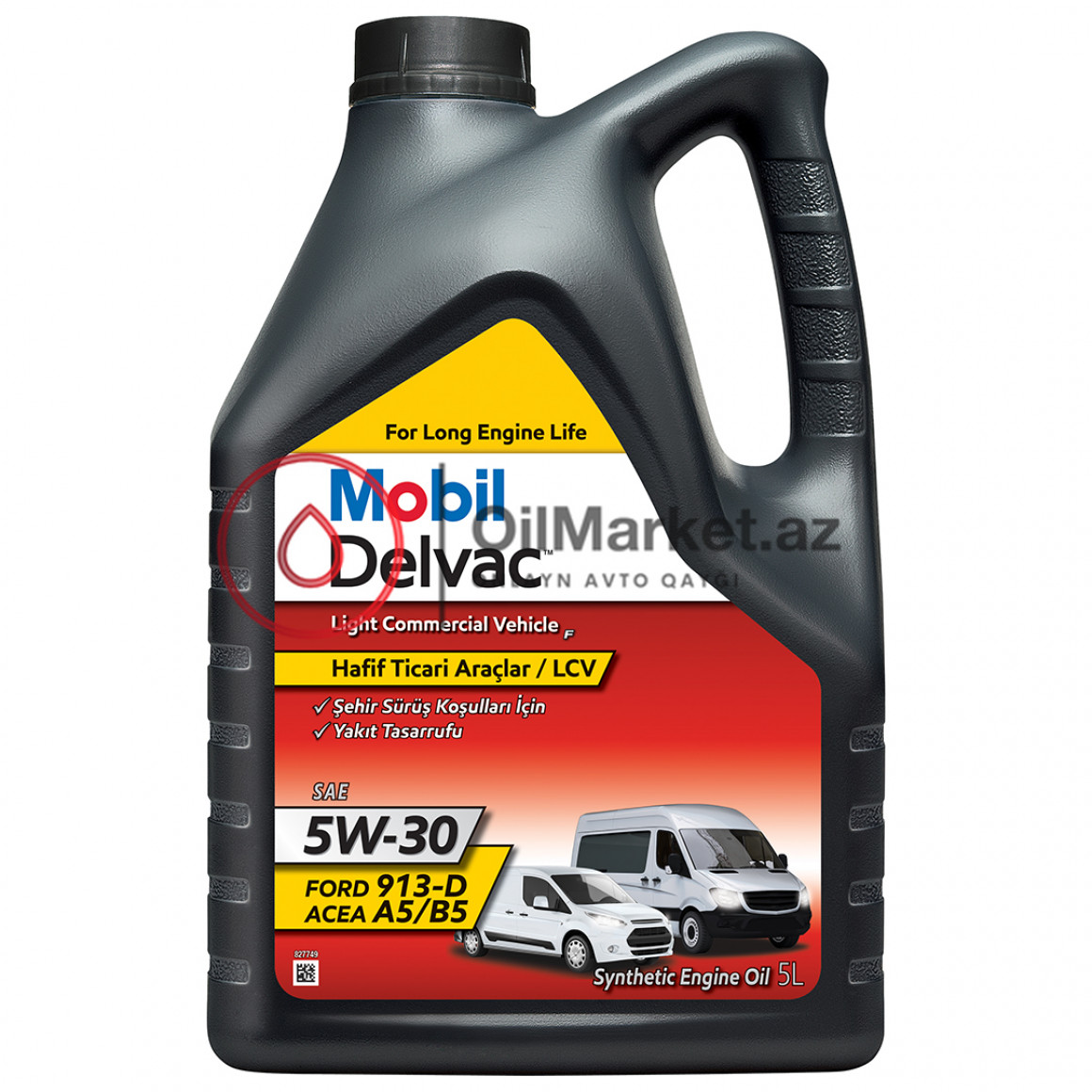 Mobil Delvac Light Commercial Vehicle F 5W-30