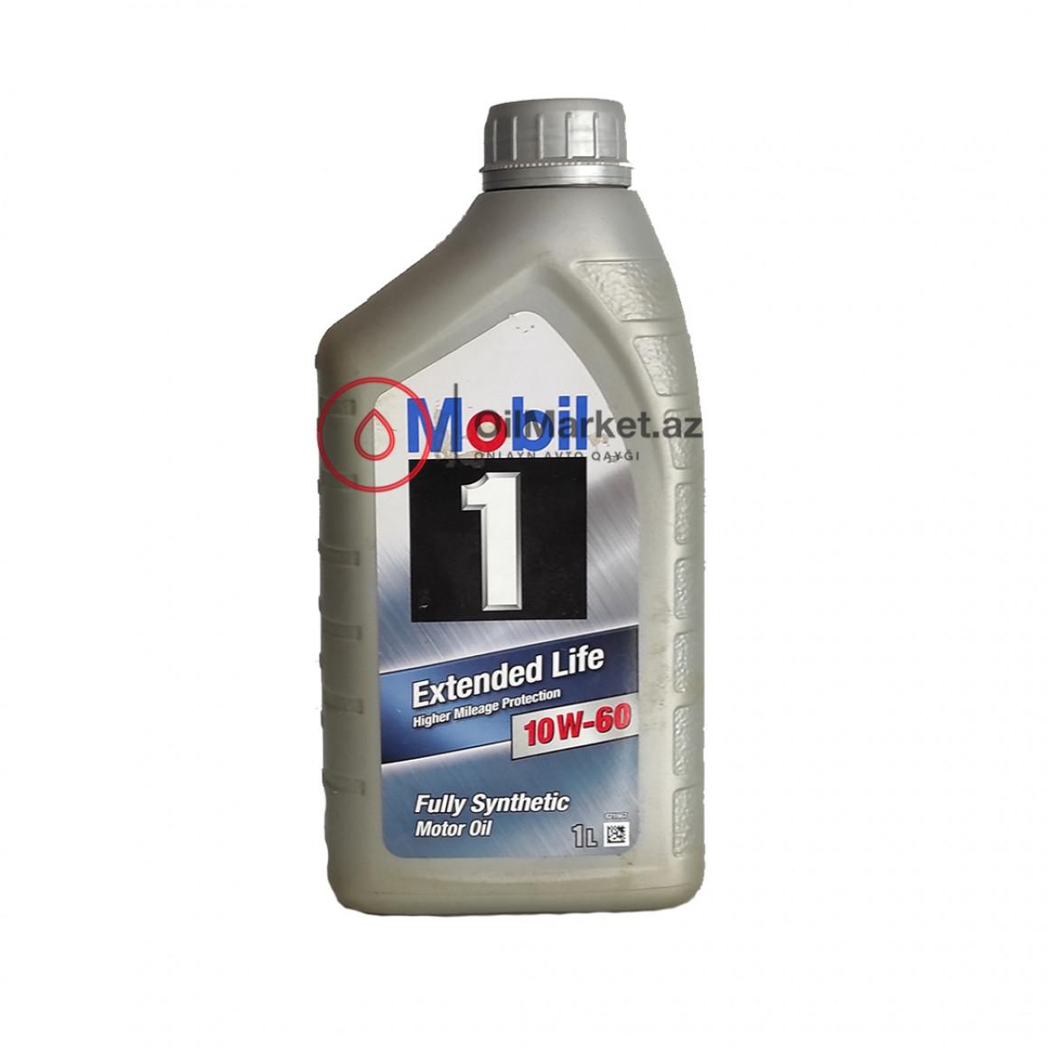 Mobil 1 Extended Life 10w-60 - 1 Lt